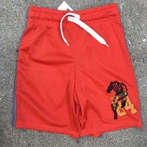 NWT Gap Junkfood Orange Mesh Ironman Shorts